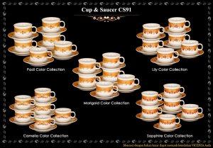 CS91 CUP & SAUCER